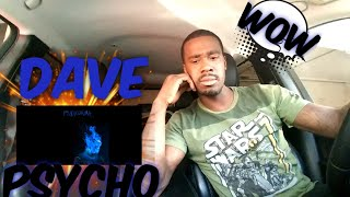 AMERICAN REACTS TO UK RAPPERS Dave - Psycho
