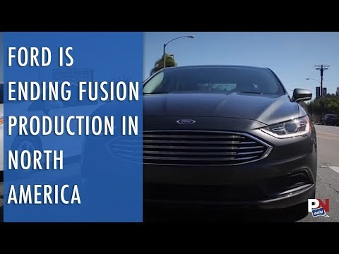 Ford Will Be Ending Fusion Production In North America