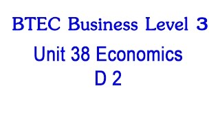 btec business unit 3 d1 Resources for the promotion unit of the btec level 2 business includes activities and question sheets for each criteria.