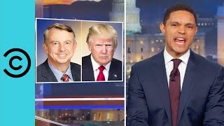 Trump Abandons Ed Gillespie | The Daily Show