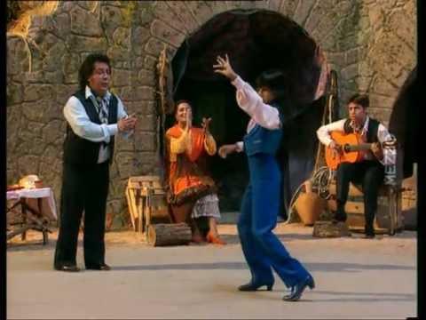 Spanish gypsy dance and music