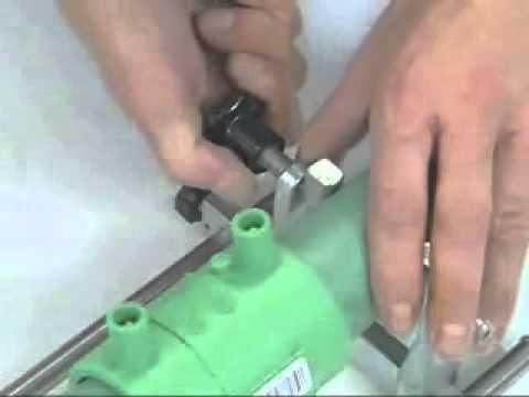 Электромуфтовая сварка полипропиленовых труб электросварной муфтой PPR (инструкция, своими руками)