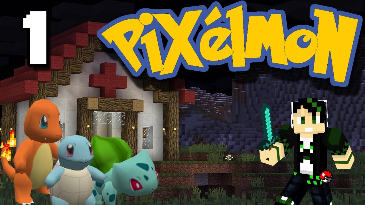 I choose you charmander again ep 1 pixelmon youtube - Pixelmon ep 1 charmander ...