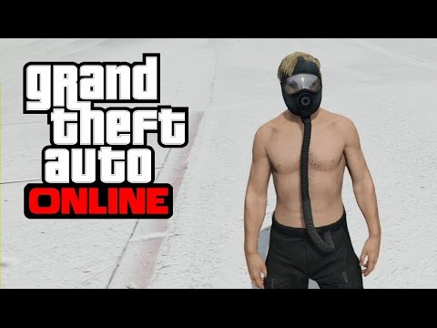 GTA 5 Online - How to Get the Flight Suit Tube/Hose on Any Outfit After 1.32