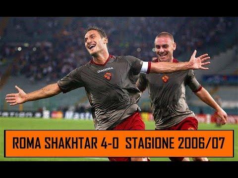 ROMA Shakhtar Donetsk 4-0   Sweet dreams