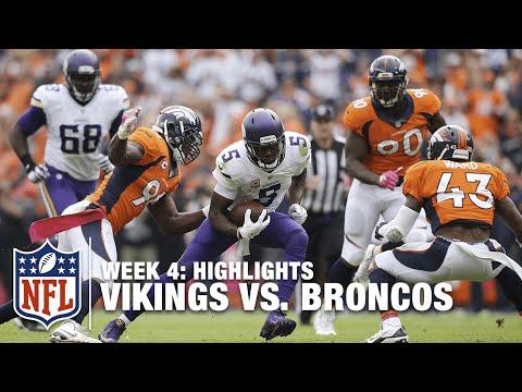 Vikings vs. Broncos | Week 4 Highlights | NFL