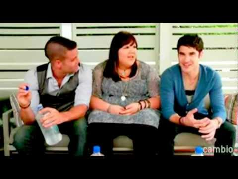 Mark Salling, Ashley Fink & Darren Criss - Live Chat - Never Say Never.