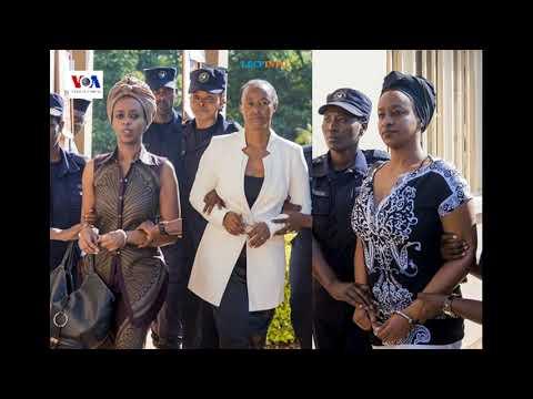 Mu rukiko, Adeline Rwigara yabashinje kumwicira umugabo, na ho Diane asaba P.Kagame kubafungura bose