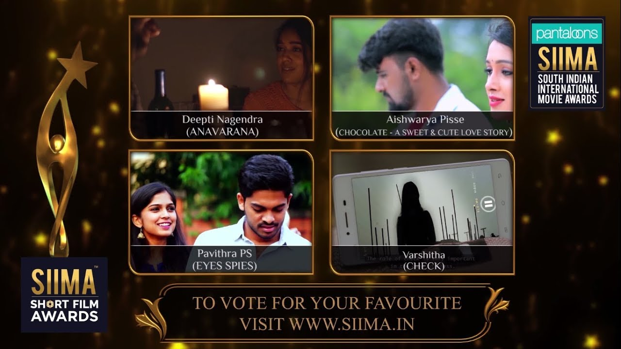 SIIMA Short Film Awards 2019 | Best Actress in a Leading Role Nominees |  Kannada by Siima Official