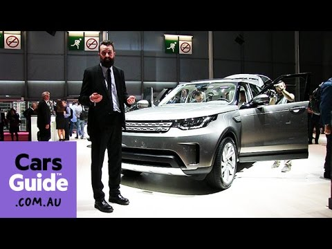 2017 Land Rover Discovery revealed at Paris motor show | video