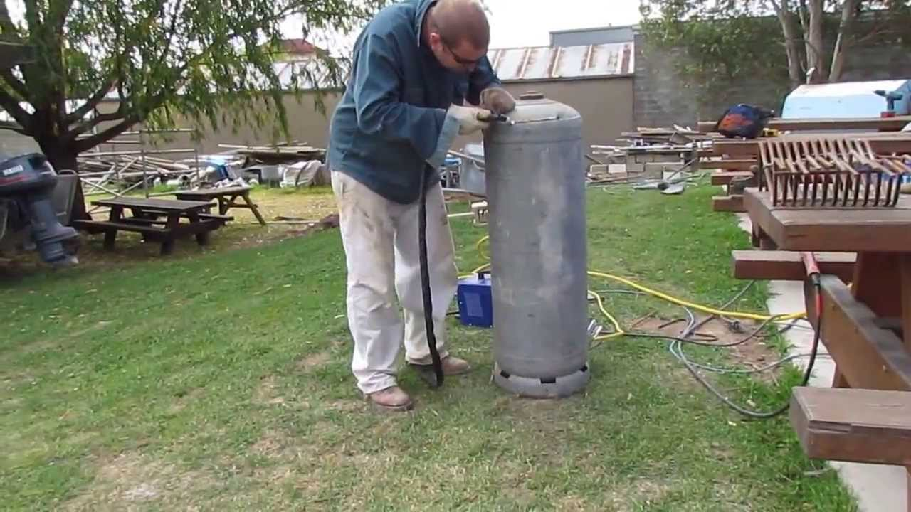 Step By Step How To Build A Rocket Stove Heater Modified
