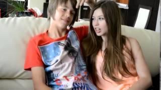 Даня и кристи лето 2014)))))