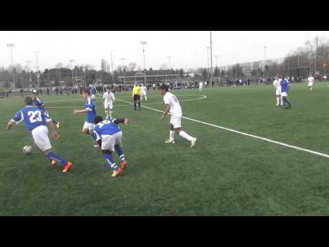 BC Soccer Team U15 vs Aberta Team 3:0