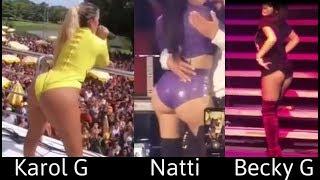 Karol G Vs Natti Natasha Vs Becky G - ¿Quien Baila Mejor?
