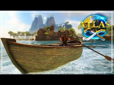 ATLAS Beginner Guide - Getting Started, Building a Raft, and Setting Sail