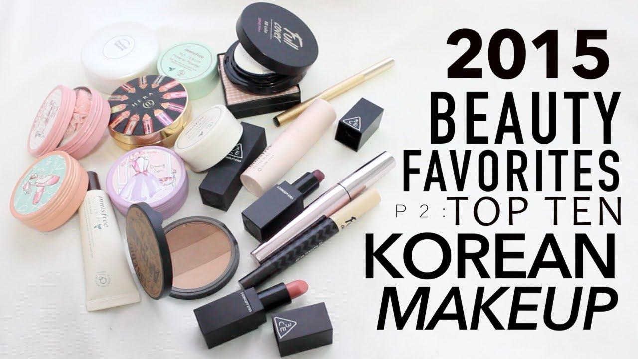 2015 Best of Beauty: Must-Have Korean Makeup