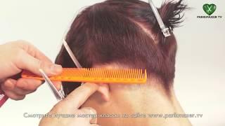 Короткая стрижка How to cut short hair. parikmaxer tv парикмахер тв