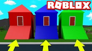 CHOOSE THE RIGHT HOUSE AND YOU WIN 10,000 ROBUX!! (Roblox)