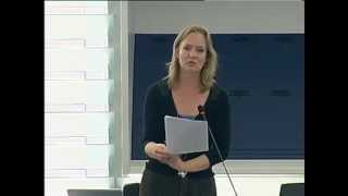 Marietje Schaake on Freedom of expression in Belarus, in particular the case of Andrzej Poczobut