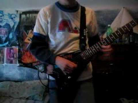 Me playing Towards Dead End by Children Of Bodom mp3