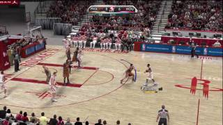 NBA 2K10 (Xbox 360) Gameplay: Phoenix Suns vs. Houston Rockets