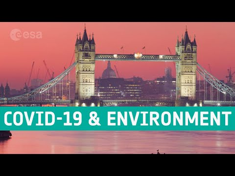 Seen from space: COVID-19 and the environment