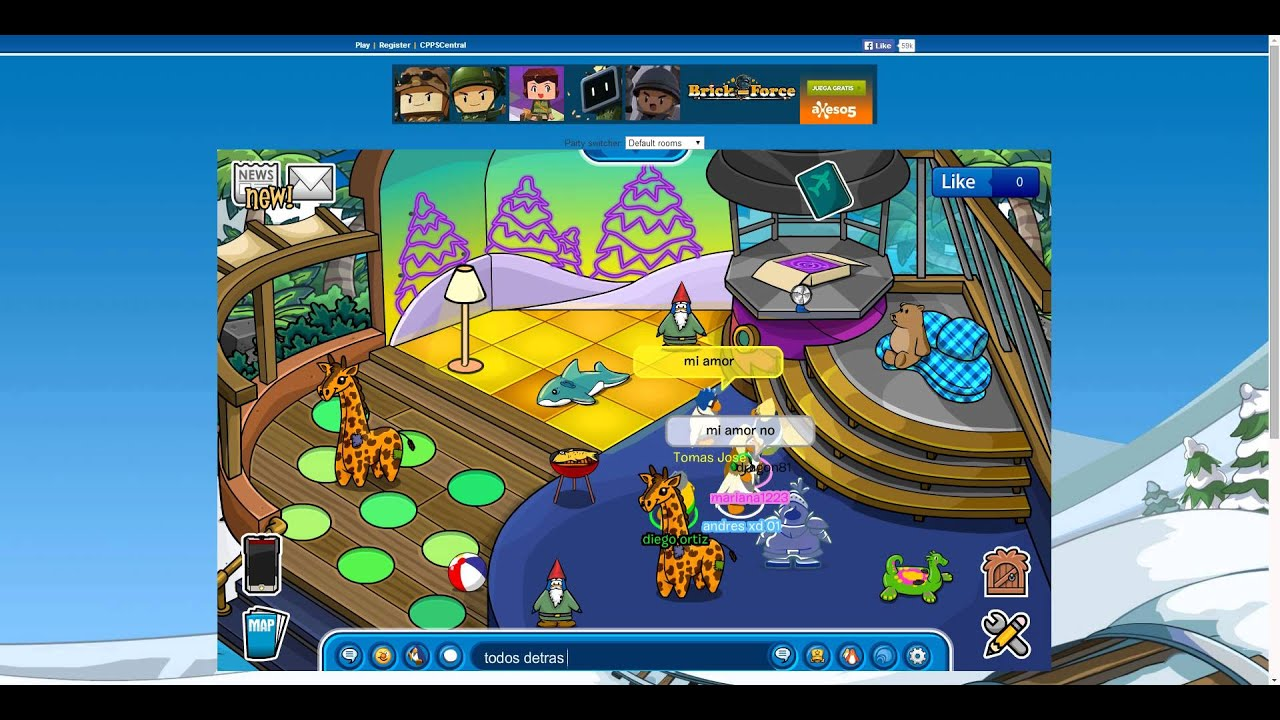 ¿Como hacer el amor en club penguin? - YouTube - photo#18