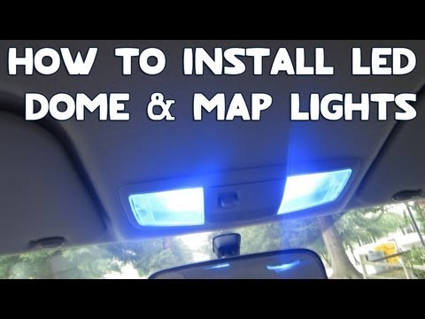 How To Install LED Dome & Map Lights In Your Car!