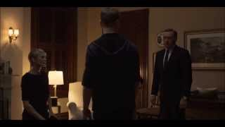 Frank Underwood lectures Adam Galloway about the marriage