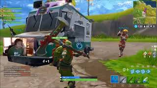 100,000 HP ICE CREAM TRUCK?! WHAT HAPPENS...? Fortnite Battle Royale