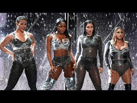 Fifth Harmony SHADES Camila During 2017 MTV VMAs Performance