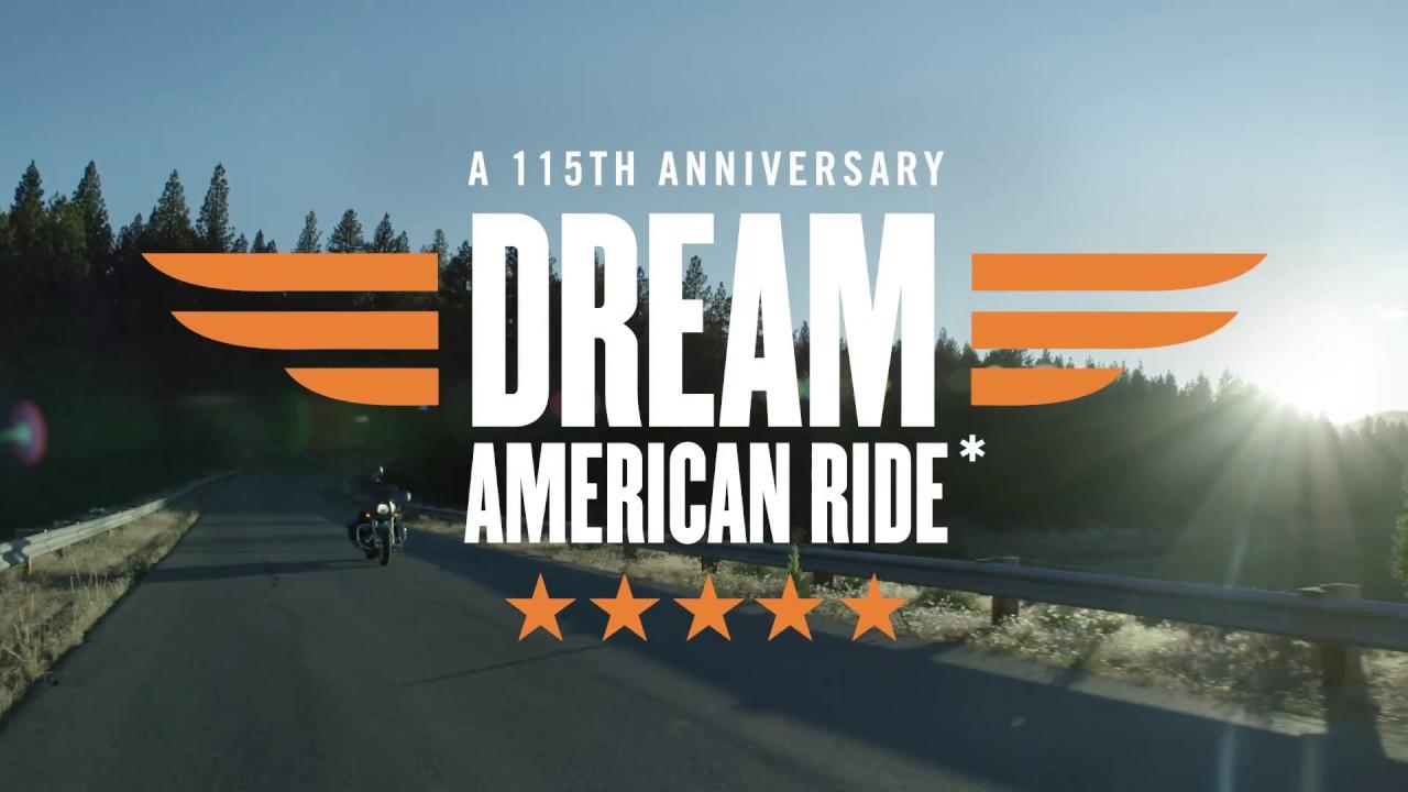American Dream Ride Sweepstakes at White Lightning Harley-Davidson