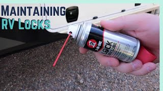 Maintaining your RV Locks with 3-IN-ONE Lock Dry Lube!