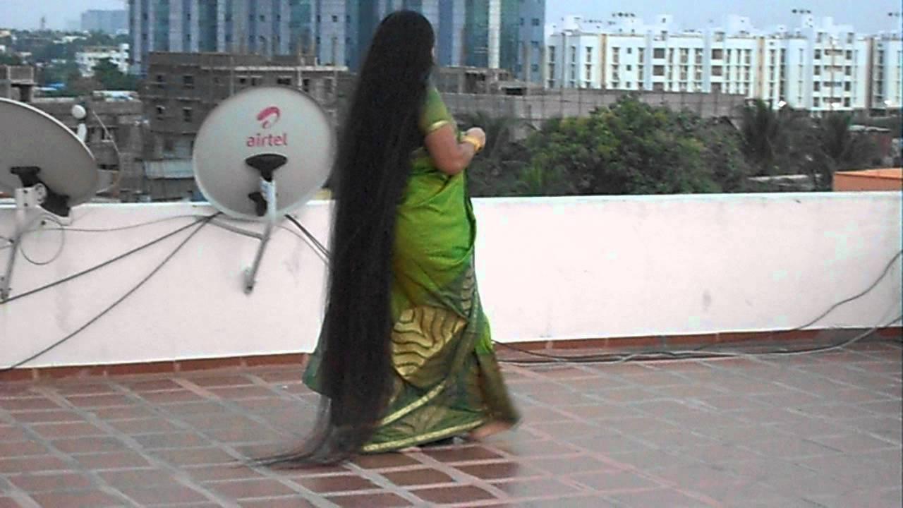 Longest Hair Prasanti Lavanya - YouTube