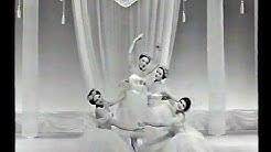 Pas de quatre with Carla Fracci, Margrethe Schanne, Josette Amiel, Kirsten Bundgaard, 1968