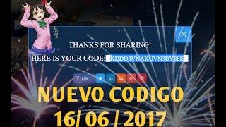 NUEVO CODIGO- NEW CODE LEGACY OF DISCORD 16/06/ 2017 (Legacy of Discord-En Español)