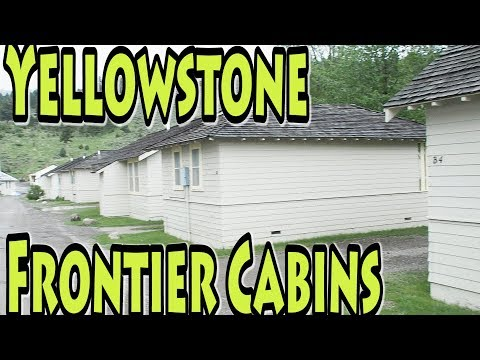 MAMMOTH HOT SPRINGS FRONTIER CABINS, YELLOWSTONE