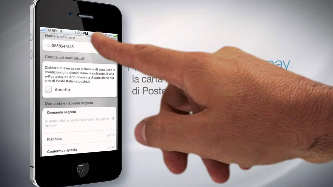 scarica gratis app postepay