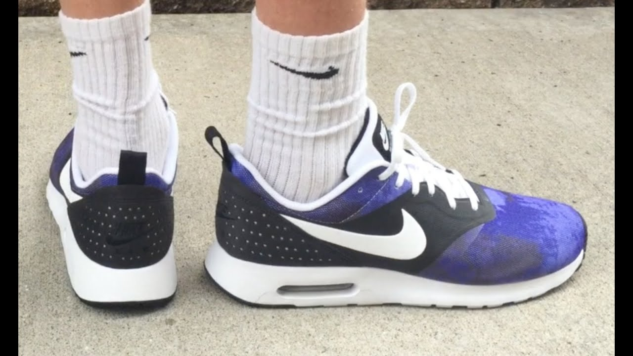 0c7c16dc938f AIR MAX TAVAS SD  VIOLET INK  REVIEW   ON FOOT - YouTube
