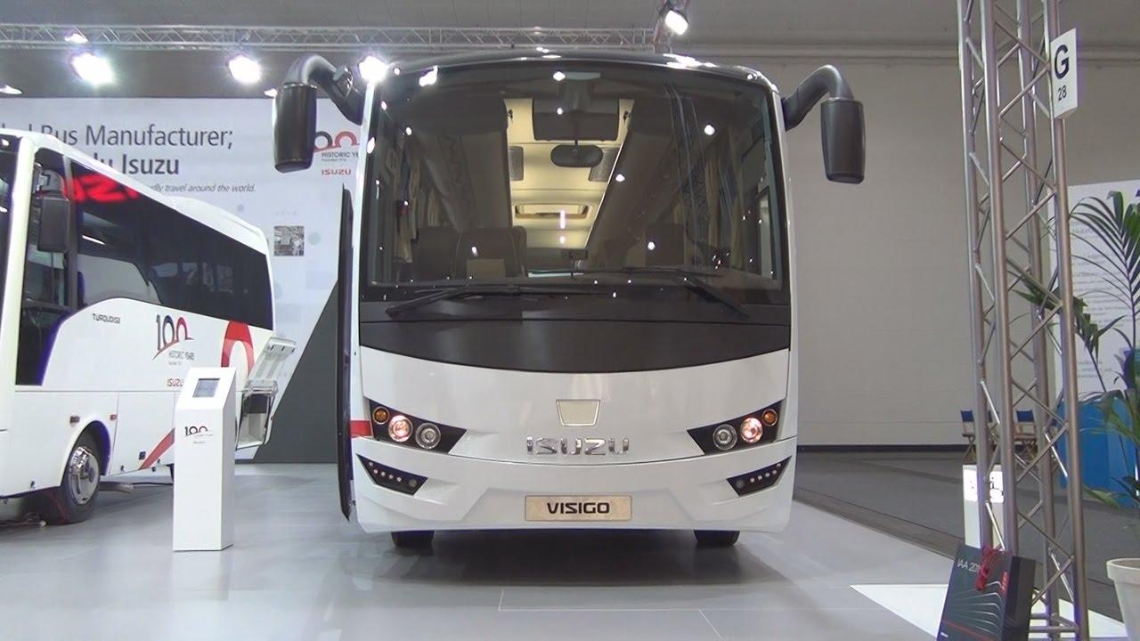 Isuzu Visigo Cummins ISB6.7E6 250B Bus (2017) Exterior and Interior in 3D