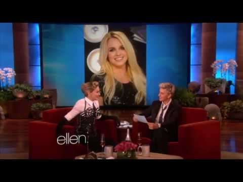 Madonna talks about Lady Gaga on Ellen.