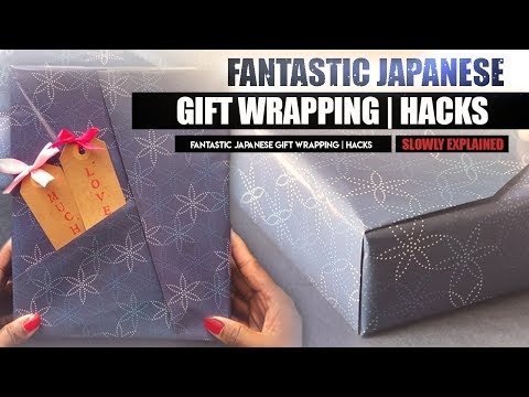 Fantastic Japanese Gift Wrapping  Hacks In 5 Minutes