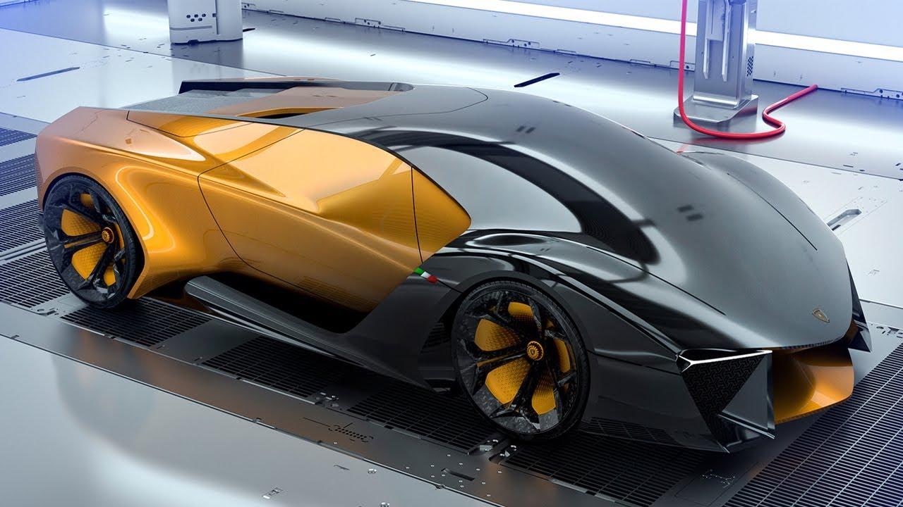 Lamborghini Belador Hybrid Supercar Concept Youtube