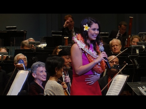 """How Far I'll Go"" - Moana (Live) - Auli'i Cravalho (First Performance, One Week before Oscars)"