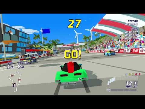 Hotshot Racing - Flunk on 1st go... |