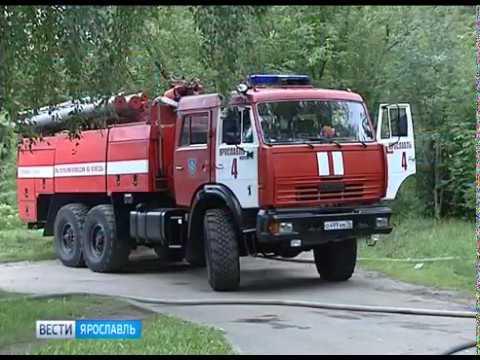 Подробности серьезного пожара в Заволжском районе Ярославля