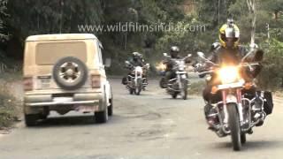 Hornbill festival Northeast riders meet   The Best of India