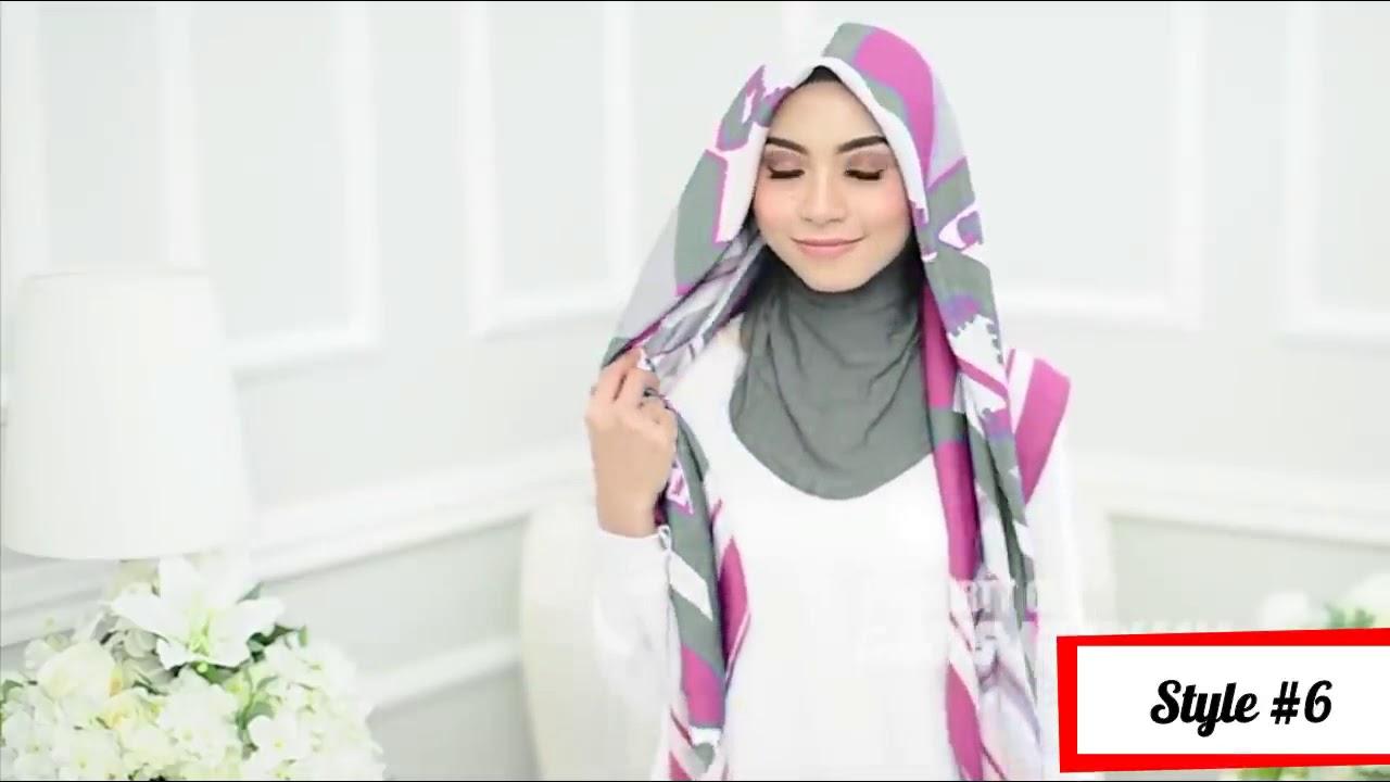 Tutorial Hijab Segi Empat Angel Lelga Tutorial Hijab