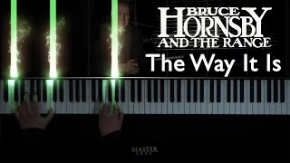 BRUCE HORNSBY - The Way it is. 1986 - Piano cover