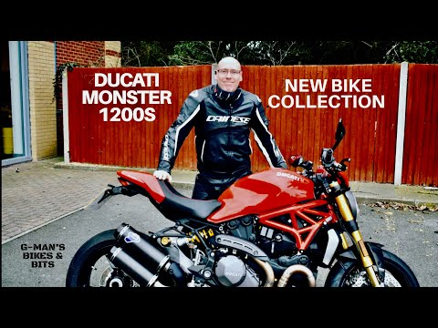 COLLECTING MY NEW 2018 DUCATI MONSTER 1200S